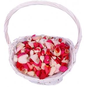 Лепестки роз любого цвета (12 бутонов) с доставкой.