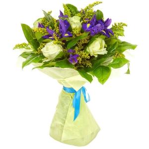 чай из синих цветов из тайланда