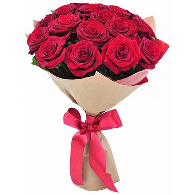 Букет цветов красные розы фото