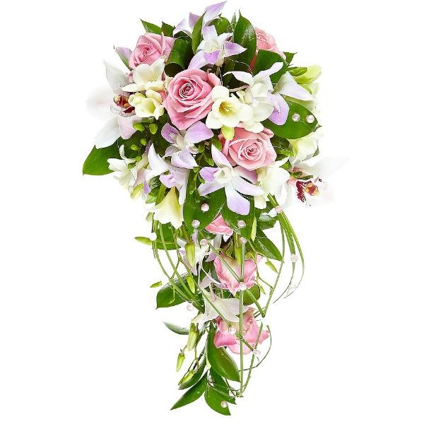 gt; Букет невесты из орхидеи фаленопсис