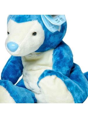 Плюшевый синий кенгурушка для Ваших близких (30 см.).