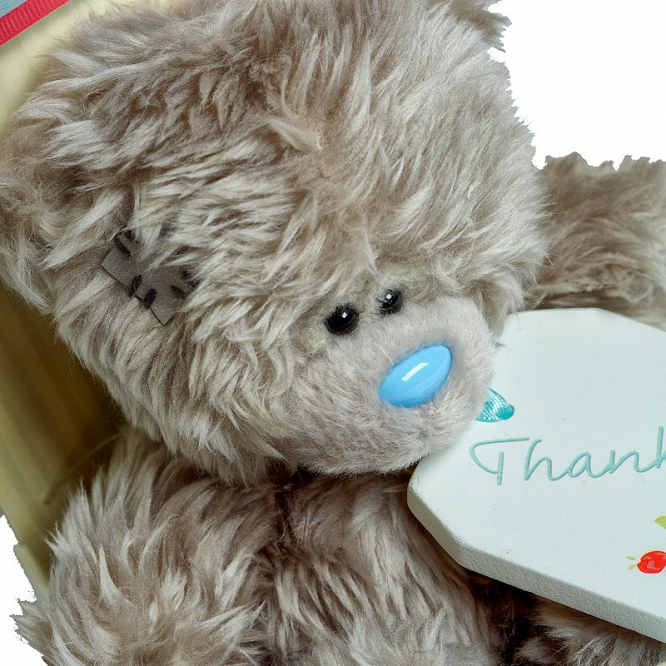 """Плюшевый мишка """"Спасибо тебе"""" для Ваших близких (17 см.)."""
