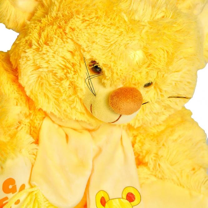 """Плюшевая желтая мышка """"Обними меня"""" (30 см.)."""