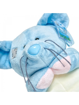 Плюшевая синяя мышка для Ваших любимых (20 см.).