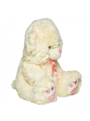 Плюшевый мишка с розовым бантиком (50 см.).