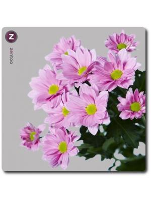 Поштучно ветка розовой хризантемы (экстра класс, 75 сантиметров) с доставкой №21