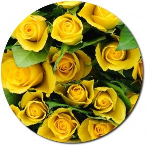 Поштучно желтые розы №2 с доставкой.