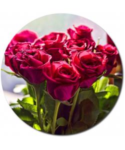 Поштучно пурпурные розы (экстра класс, 70 сантиметров) №1 с доставкой.