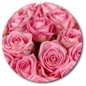 Поштучно розовая роза с доставкой №7