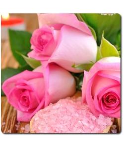 Поштучно розовая роза (экстра класс, 70 сантиметров) с доставкой №7