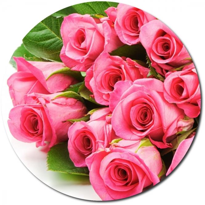 Поштучно розовые розы (экстра класс, 70 сантиметров) с доставкой по Киеву.