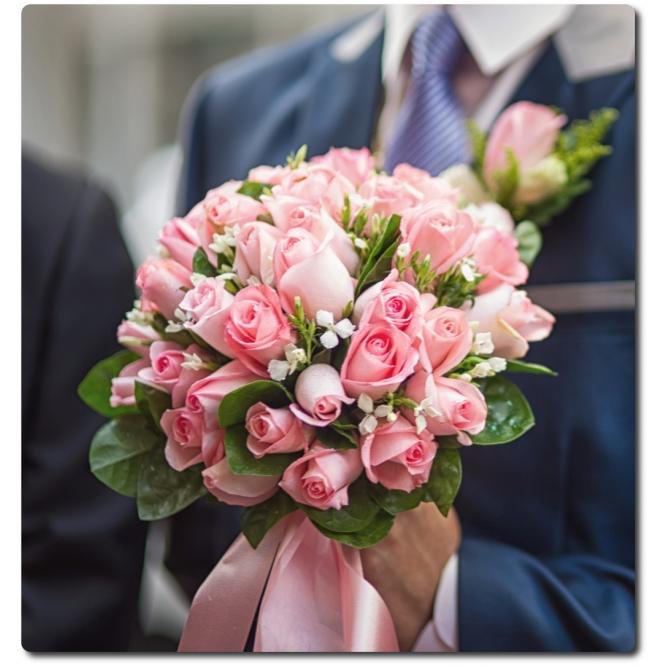 Букеты невесты с доставкой где можно купить цветы высоково