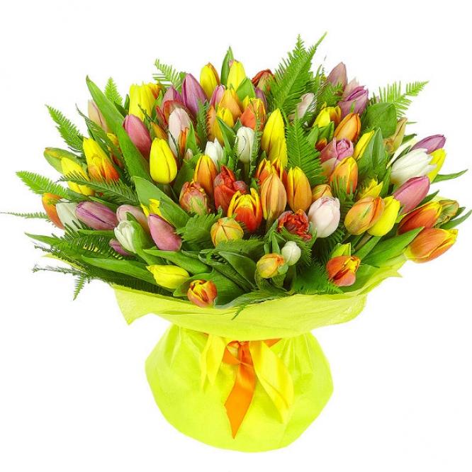 Цветы букет тюльпаны букеты