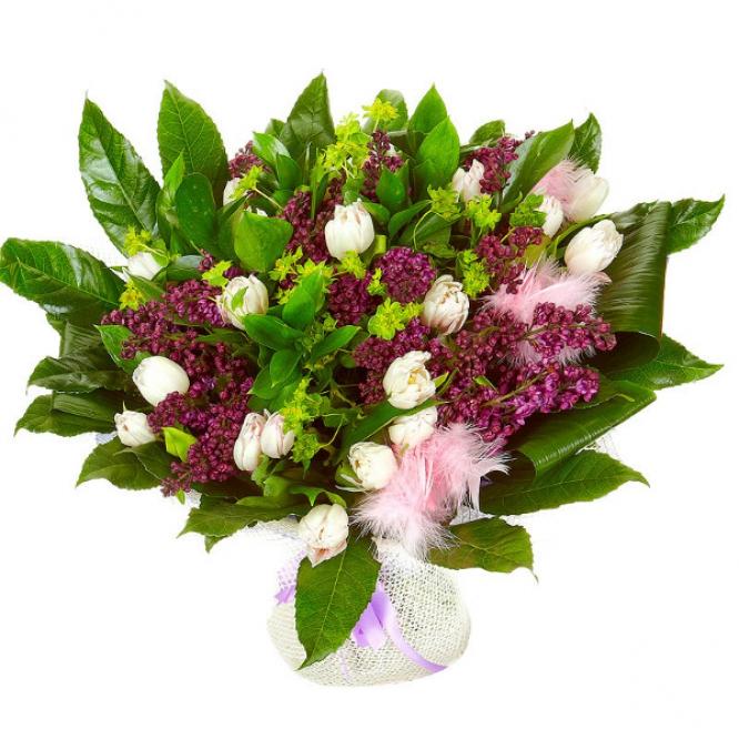 Служба доставки цветов сирень купить цветы наложным платежом