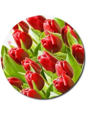 Поштучно красные тюльпаны с доставкой по Киеву.