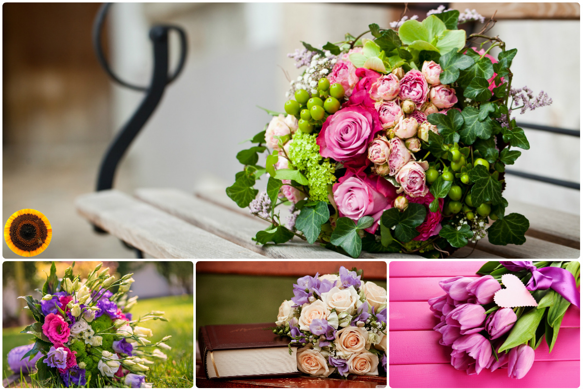 Купить букет цветов в Киеве с доставкой по низкой цене. Заказать доставку цветов.