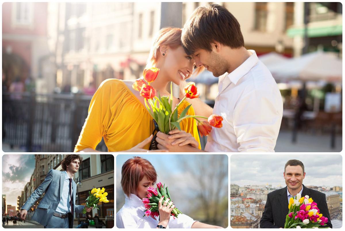 Купить букет тюльпанов в Киеве с доставкой по низкой цене.